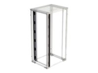 "Eaton REC Series IT Rack 800mm Wide Rack Air Management Baffles - Luftledeplatesett for rack - 42U - 19"" RESABK4208KB"